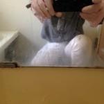 インターネットのおそうじ情報の危険性「お風呂の鏡の曇りを落とす」