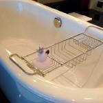 「滑らかな仕上げ。」お風呂の徹底リセットクリーニング。