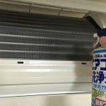 自分でするエアコンクリーニングの注意点。(エアコン洗浄スプレー等の注意点。)