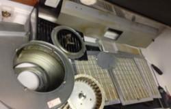 レンジフード換気扇・完全分解クリーニング